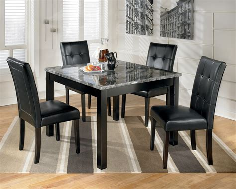 square dining room sets maysville square dining room table set d154 225