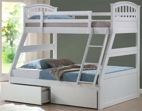 bunk beds white spruce up your kids room d 233 cor with new white bunk beds