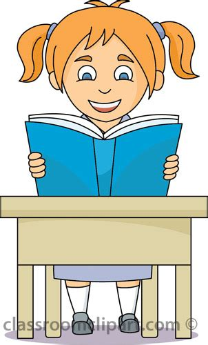 student in desk clipart school clipart student reading at desk classroom clipart