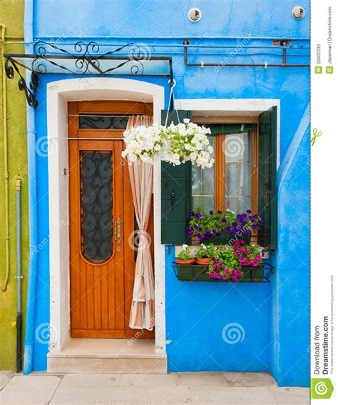 Free A Frame House Plans colorful houses of burano venice italy stock image