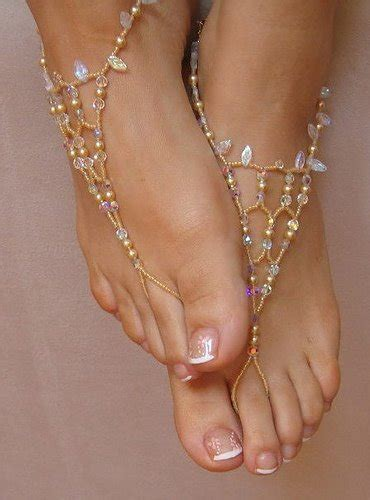 how to make barefoot sandals jewelry trend beaded barefoot sandals eureka