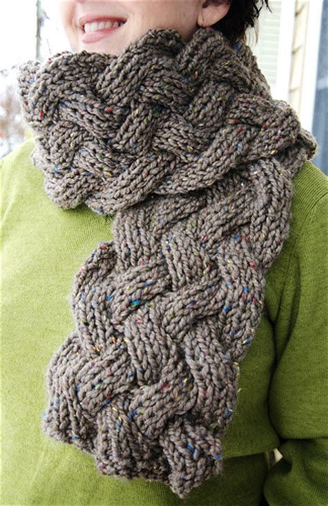 free knitted scarf patterns using bulky yarn knitting patterns galore lamar scarf