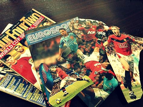 decoupage magazine clippings diy decoupage soccer 1