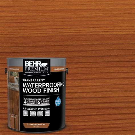 home depot paint protection behr premium 1 gal cedar naturaltone transparent