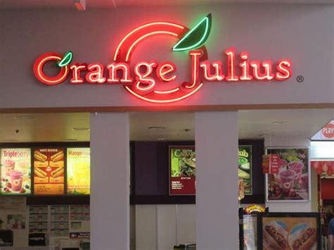 Garden State Plaza Pet Store Orange Julius San Jose 1600 Saratoga Ave Ste 605 Menu