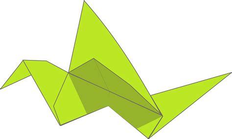 origami flying bird clipart origami flying bird