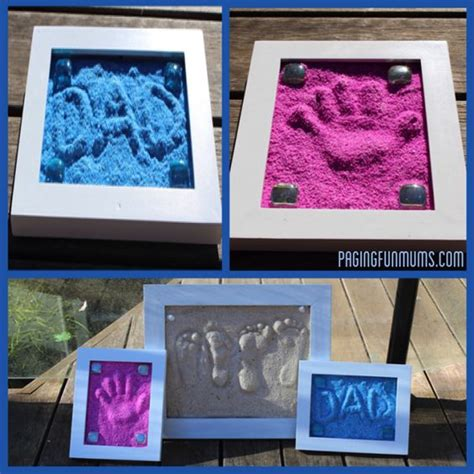 sand craft projects diy easy to make sand imprints find projects to