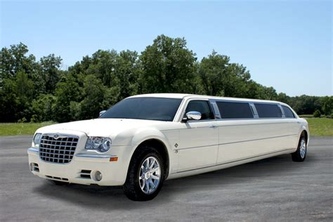 Chrysler Limo by White Chrysler 300 Limousine