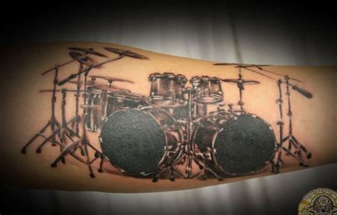 30 groovy music tattoos creativefan