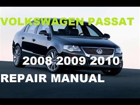 service manual best car repair manuals 2012 volkswagen new beetle engine control 2012 volkswagen passat 2008 2009 2010 repair manual youtube