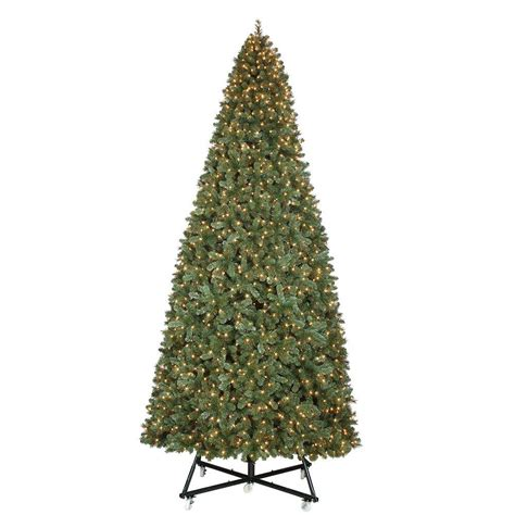 15 foot artificial tree home accents 4 ft pre lit grand fir potted