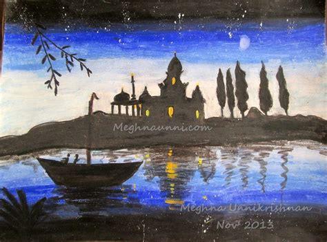 paint nite riverside riverside temple view painting