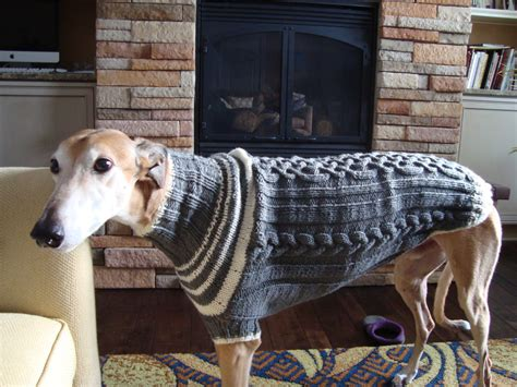 knitting for greyhounds greyhound sweater knitting pattern pdf file only