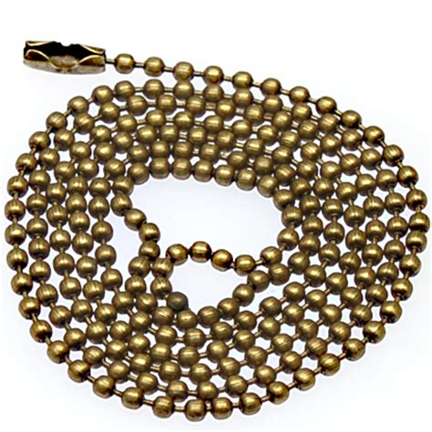jewelry chain wholesale 2 4mm tag chains bead chain chains necklaces