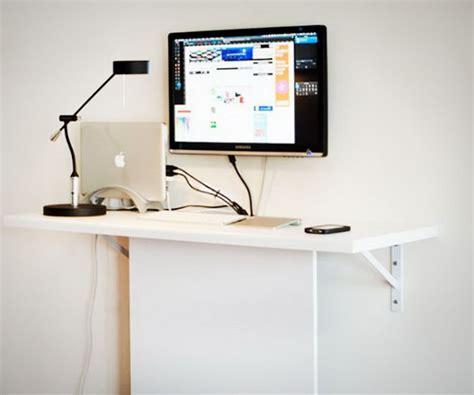 computer desk on wall 15 diy computer desks tutorials for your home office 2017