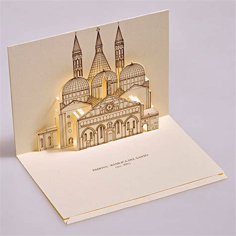 how to make pop up invitation cards creative 3d popup postcards featuring monuments in