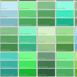 paint colors green shades shade blue to green color search website