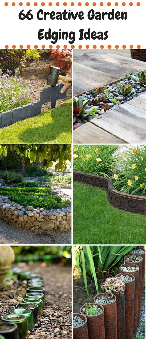 garden edging ideas 25 best garden ideas on gardening gardens
