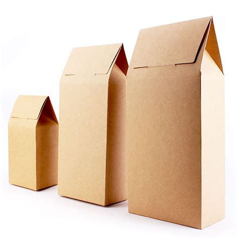 thick craft paper thick brown kraft paper folding gift pouch bag esgreen