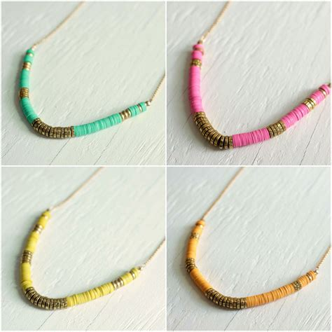 diy beaded necklace diy how to make a beaded necklace with vinyl