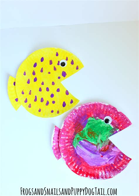 paper plate fish craft fish paper plate craft fspdt