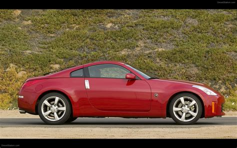 Nissan 350z 2008 by Nissan 350z Coupe 2008 Widescreen Car Wallpapers