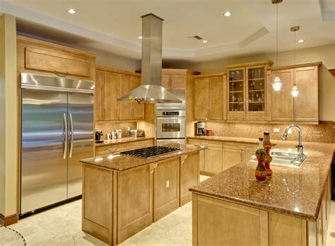 u shaped kitchen island 25 u shaped kitchen designs pictures designing idea
