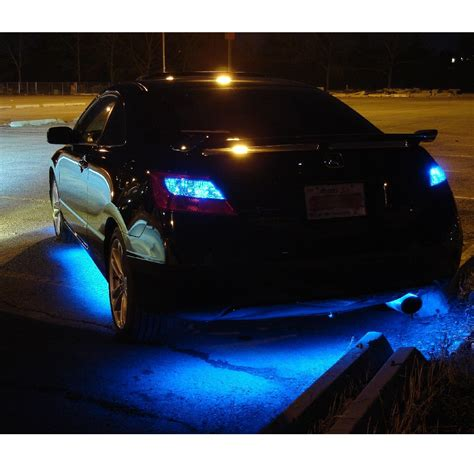 led lights for car underbody led lights blue car truck 4 kit led strips