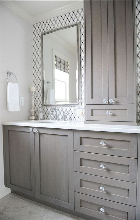 bathroom cabinets ideas give your bathroom a budget freindly makeover confettistyle