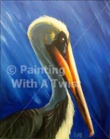paint with a twist baltimore 12 best pelican paintings images on bird