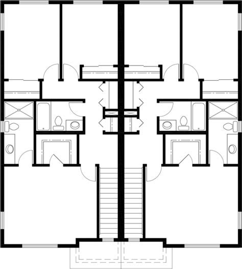 3 bedroom townhouse plans townhouse plans row house plans 4 bedroom duplex house plans