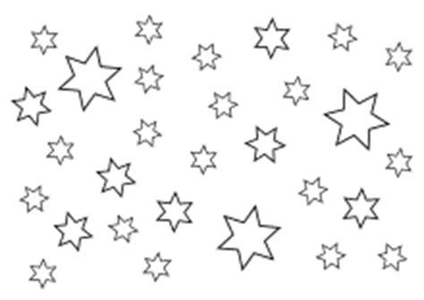 malvorlage sternenhimmel window color