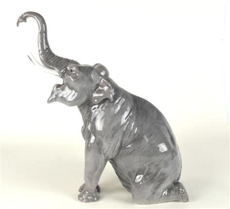 porcelain elephant denmark grondahl porcelain elephant