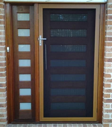 front door screens secureview hinged security screen door stainless steel