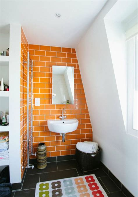 orange bathroom ideas 40 orange bathroom tiles ideas and pictures