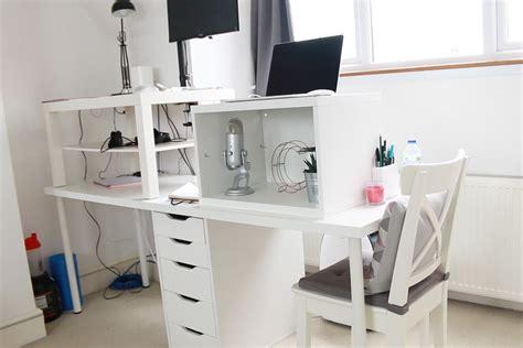 standing ikea desk a makeshift standing desk charli