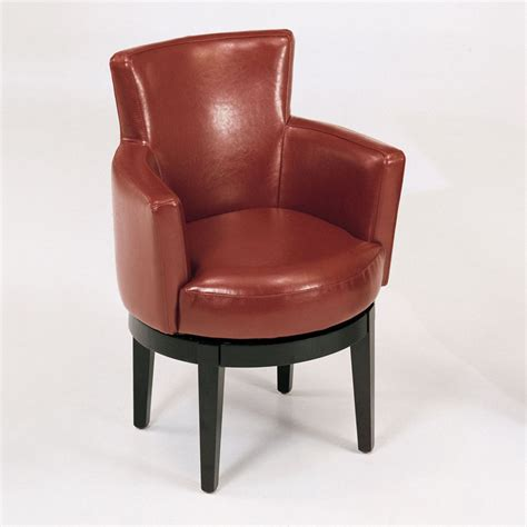 swivel accent chairs swivel bycast leather club accent chair accent chairs