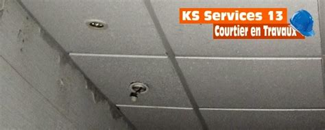 ks services 13 prix devis pose faux plafond en cadrettes ou en dalles