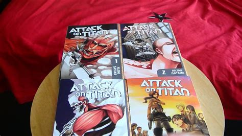 attack on titan volume 1 attack on titan vol 1 4 unboxing