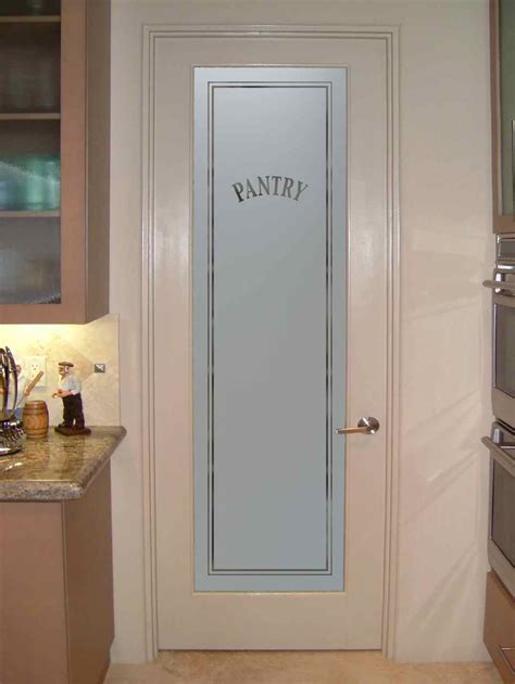 pantry door etched glass pantry doors with frosted glass sans soucie glass