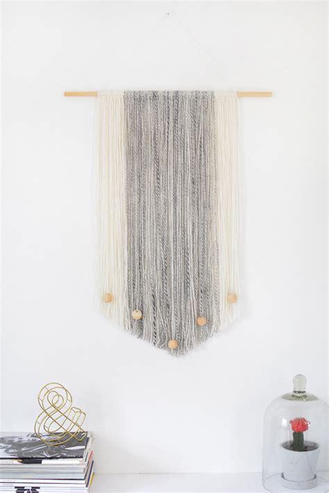 door wall hanging diy yarn wall hanging burkatron