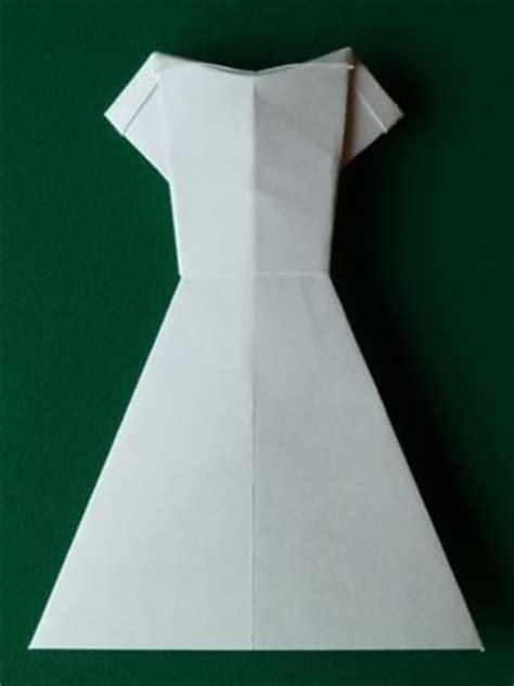 how to make origami wedding dress money origami dress folding with photos
