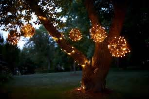 lighted trees for outside diy creating character with outdoor lighting soulful abode
