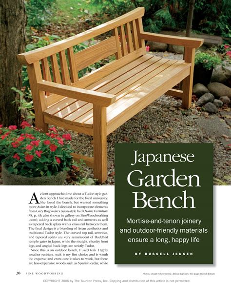 woodworking outdoor projects plans to build a wooden garden bench woodworking