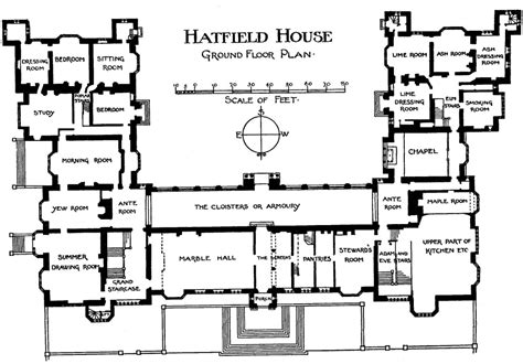 Mansion Layouts historic english country house floor plans escortsea