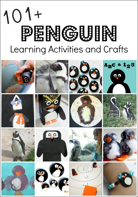 and activities penguin activities and penguin crafts