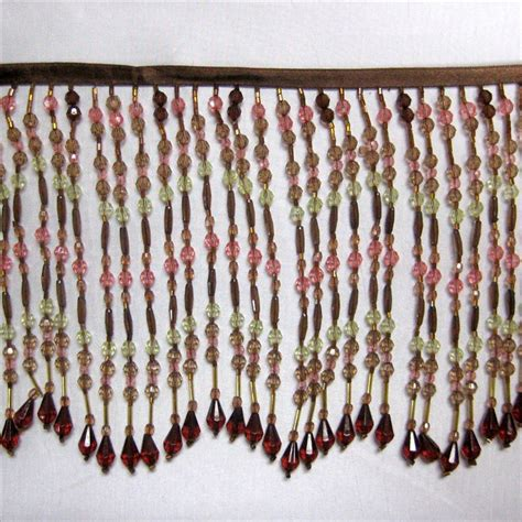 window bead trim glass beaded fringe trim images