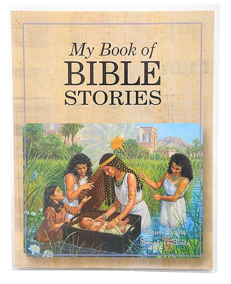 bible story picture books my book of bible stories clear vinyl book cover
