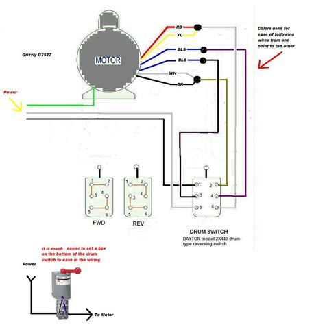 Electric Motor Switch by I Ve Purchased A Grizzly G2527 1 3 Hp Motor To Make A