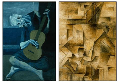 picasso paintings guitar point of view creature and creator